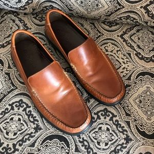 Cole Haan slip on leather shoes